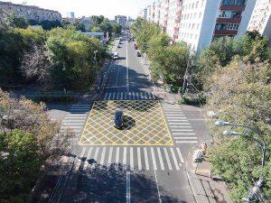 Где в Москве заработали ловушки за выезд на «вафельницу»