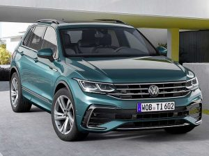 Volkswagen выводит на рынок рестайлинговый кроссовер Tiguan